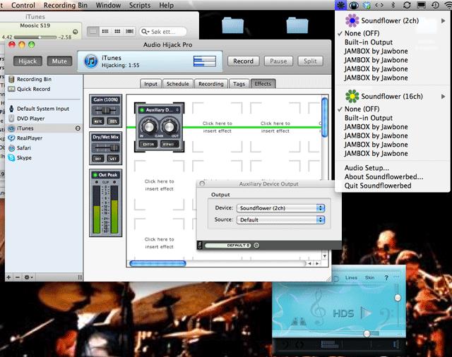 How to install SoundPimp-SoundFlower-HiJackPro