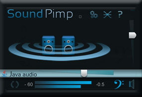SoundPimp audio enhancement software for Mac os x